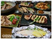 鮭とジャガイモのホイル焼きご飯