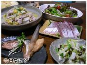 白菜と豚肉蒸しご飯