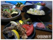 鯖の竜田揚げご飯