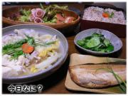 白菜と餃子煮