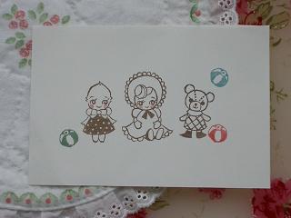 お人形と紙風船 50