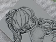 輪郭彫り30