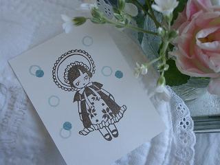 夏の文化人形・小鳥Bonjour 003 ブ50