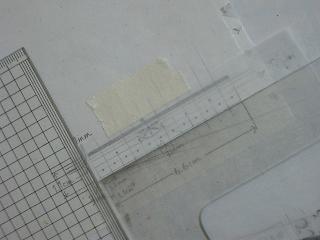レース柄のリボン作り方 013 blog