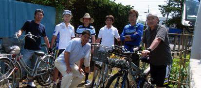 サイクリング集合
