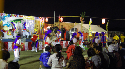 沖縄踊り夜