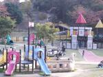 大高緑地公園 芝生広場 遊具