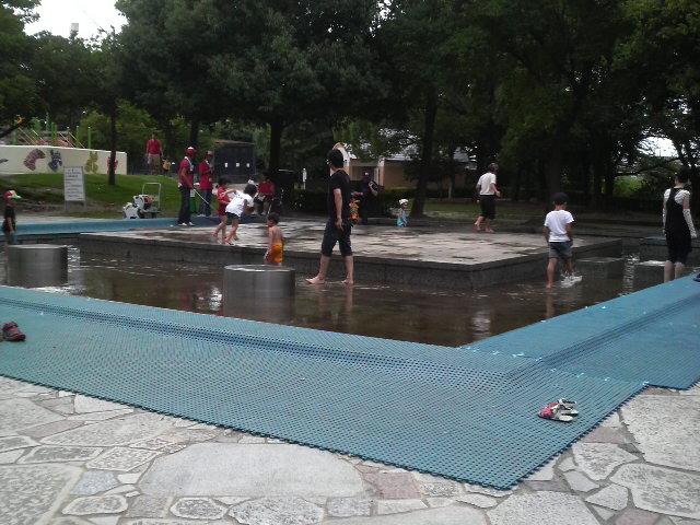 堀内公園のジャブジャブ池