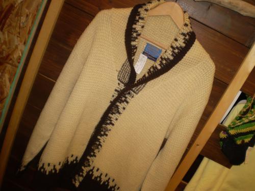pendleton knit cardigan