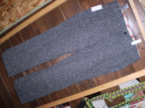 cats paw wool work pants
