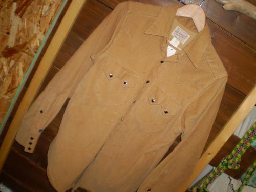 rock mount corduroy western shirt