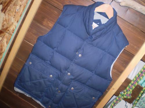 st jones bay down vest