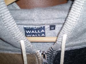 walla walla sports crazy parka tag