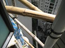 竹の足場(小)