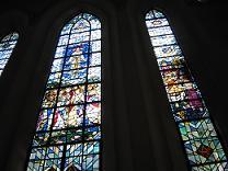 ST.Michaels chapelステンドグラス窓