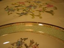 テーブルクロスと食器(小)