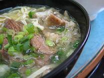 ぎゅう筋麺(小)