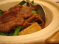 牛肉の土鍋焼き(小)