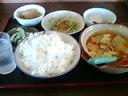 たかお・日替わりランチ(チゲ鍋定食)