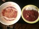 香草チキンチーズ味&鶏肉シチューライス