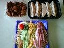 フジマート 岩舟店・お惣菜(冷やし中華&餃子&レバ)