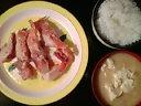 赤魚の粕漬け焼き&ごはん&味噌汁