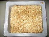 焼とうふ白菜しらたき鮭の味噌鍋