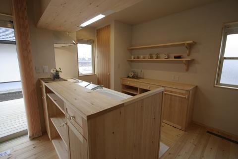 T様邸造作キッチン