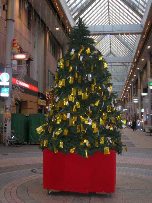 クリスマスツリー…?