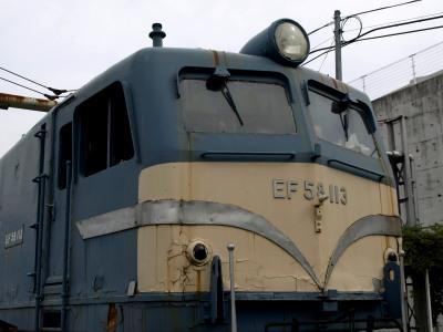 EF58-113広島車両所12