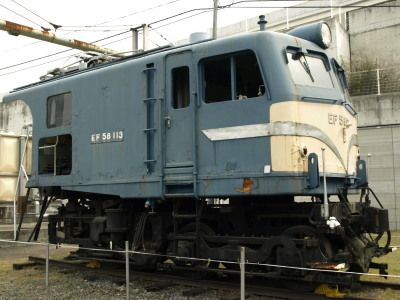 EF58-113広島車両所13