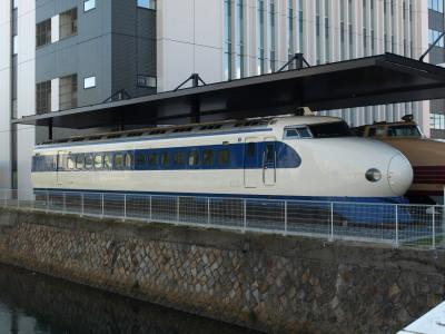 新幹線0系さよなら保存川崎重工3