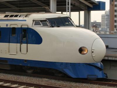 新幹線0系さよなら保存川崎重工6