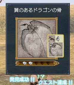 061308 060920翼のあるドラゴンの骨