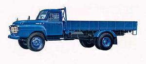 '62年型いすゞボンネット トラックTX-552型