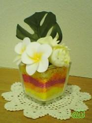 トロピカルアレンジ プルメリア2