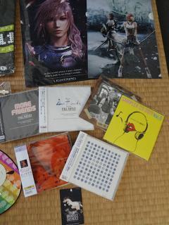 おみやげ:その1(クリアファイル+CD)