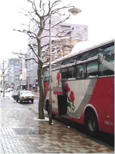 札幌の雪加減