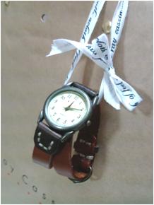 名古屋から来た時計。