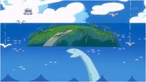 夢に描いた海