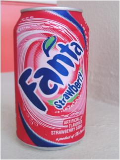 ファンタ(苺)