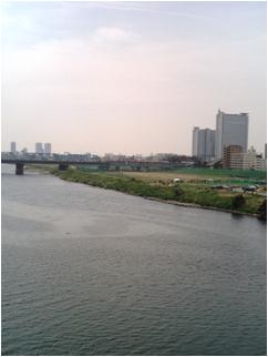 多摩川の中心で愛を叫ぶ