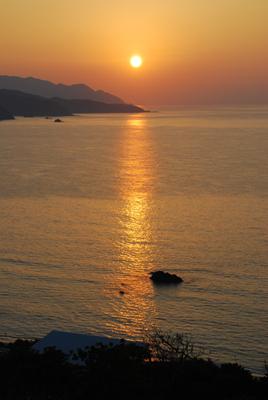 夕陽ロード