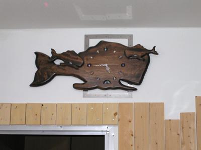 クジラの時計