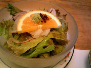 「鯛のカルパッチョ風サラダ 」料理処 和多留(福岡市)