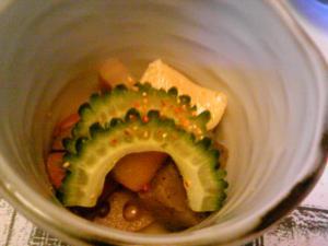 「野菜の炊合せ」料理処 和多留(福岡市)