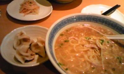 鶏スープ麺
