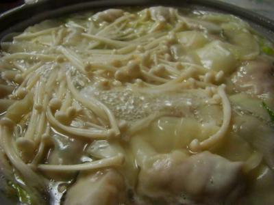 水炊き餃子鍋