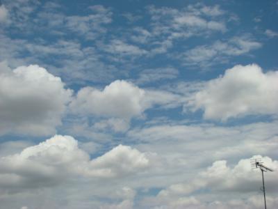 もこもこ雲^^
