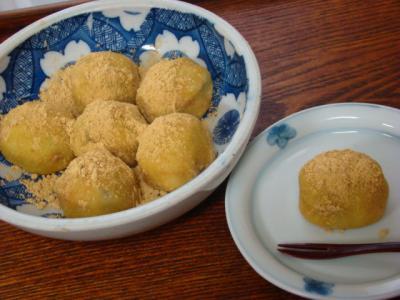 シナモン芋もち